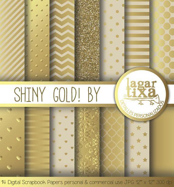 gold digital paper golden background glitter stripes gold. Black Bedroom Furniture Sets. Home Design Ideas