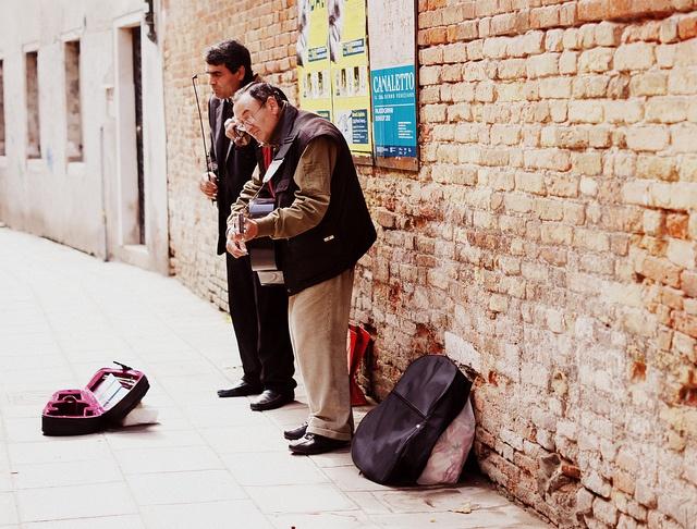 Musicians - Venice by Gleam!, via Flickr