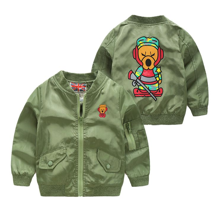 >> Click to Buy << Boys stand collar jacket child zipper outerwear 2017 spring and autumn army green cardigan boy casual sports jackets #Affiliate