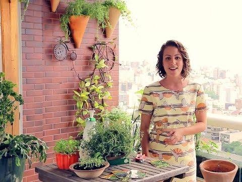 Minha Horta Desafio #4: Não tenho tempo pra cuidar da horta