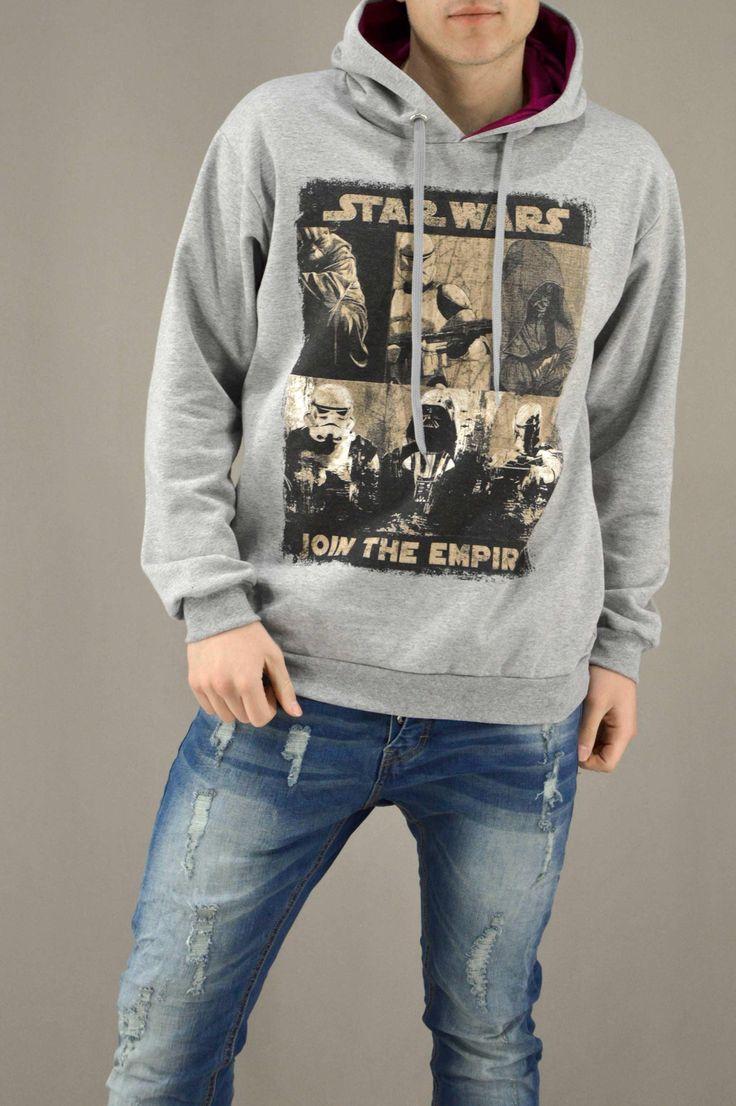 Ανδρικό φούτερ Join The Empire FOUT-1214-gr | Φούτερ > Sport &