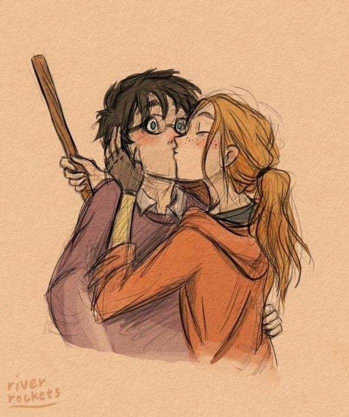 1001 Ideas De Dibujos De Harry Potter Mágicos Arte De Harry Potter Dibujos De Harry Potter Cómics De Harry Potter