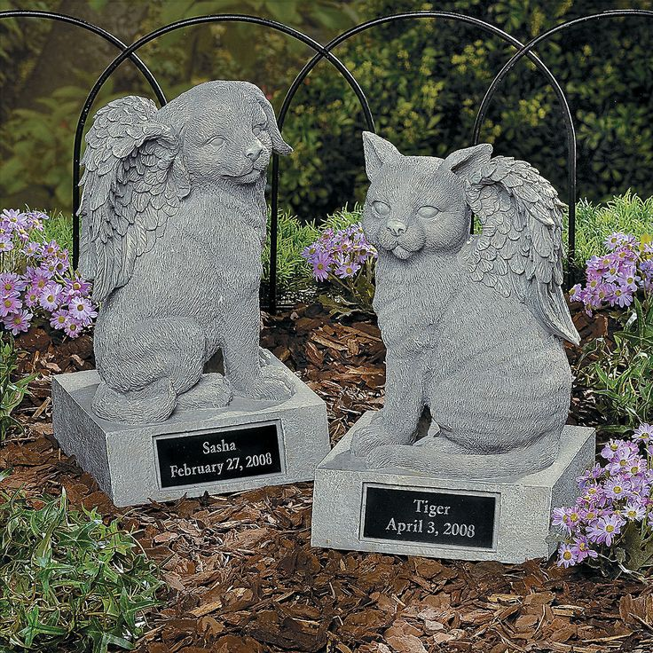 Personalized Memorial Dog Angel Statue Or Cat Angel