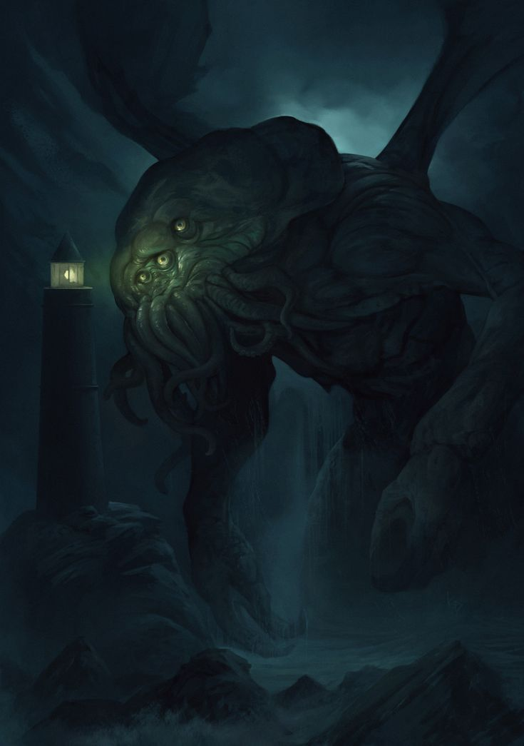 Cthulhu Dagon H P Lovecraft Wallpapers Hd Desktop And Mobile 海獣 海 壁紙 クトゥルフ
