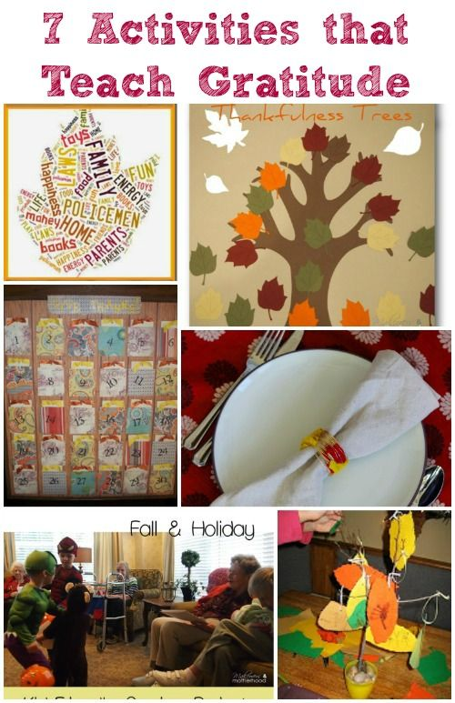 Hands-on ideas for teaching kids about gratitude and being thankful!