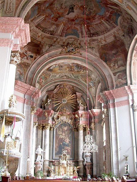 Minorite Church Interior Eger/Hungary ~