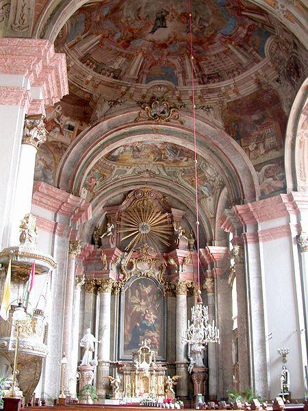 Minorite Church Interior Eger/Hungary