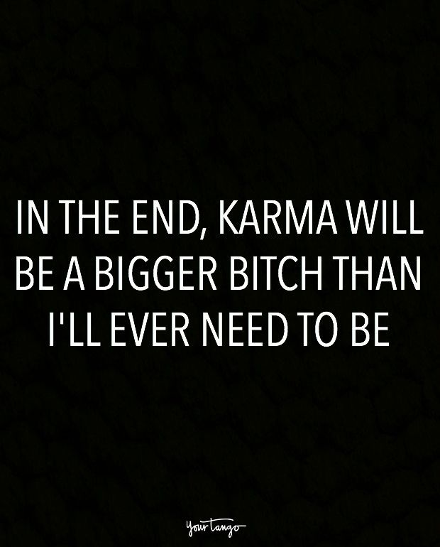karma rider ending a relationship