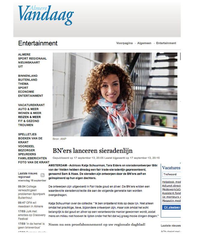 Almere Vandaag 17 September 2013 - Sam&Haas
