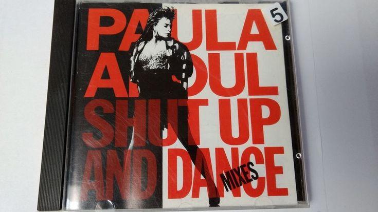 CD - Paula Abdul Shut Up and Dance Mixes  8 tracks  Virgin Records  1990