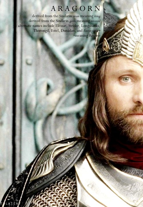 tolkieny:  the meaning of aragorn  for areaofacircleand whitney