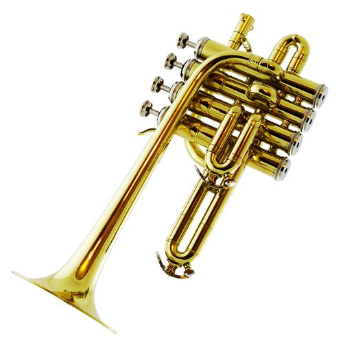 Bauhaus-Walstein 401-L Piccolo Trumpet  - 4 Valves - Lacquer Finish - Click to change size