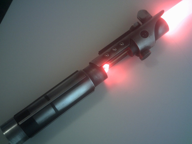 Star Wars The Force Unleashed STARKILLER Lightsaber Prop Replica.. $129.00, via Etsy.
