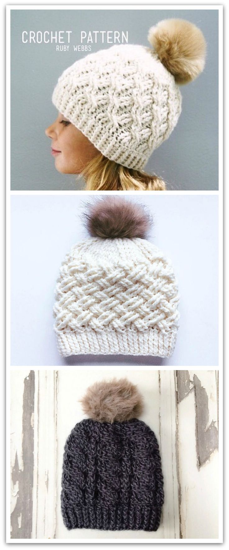493 best Crochet Hats images on Pinterest | Crochet hats, Crocheted ...