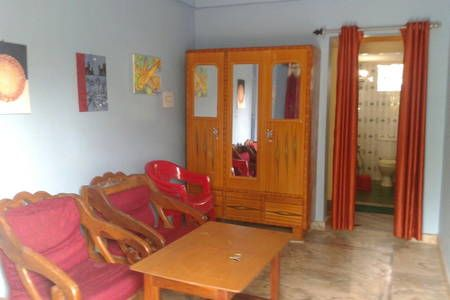 Check out this awesome listing on Airbnb: Beach Accommodation in Goa with Balcony - Rooms for Rent with kitchen, close to beach,