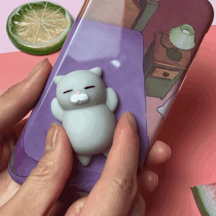 Bakeey™ Cartoon 3D Squishy Squeeze Slow Rising Lazy Cat Soft TPU Case for Samsung Galaxy S8 Plus