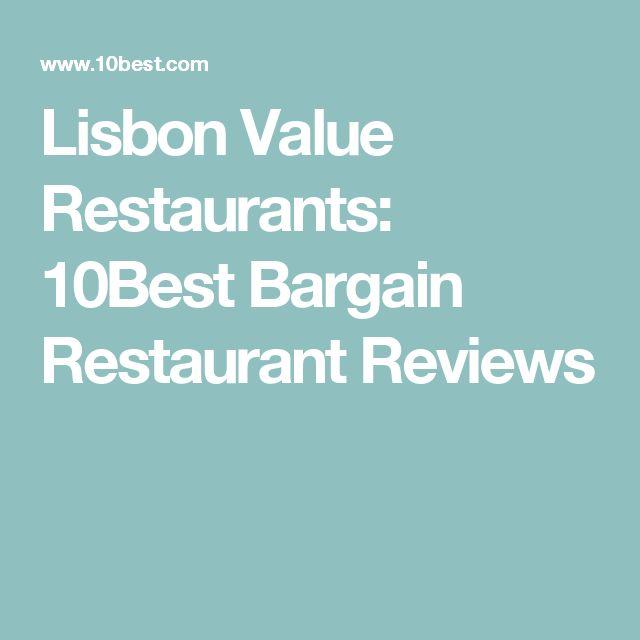 Lisbon Value Restaurants: 10Best Bargain Restaurant Reviews