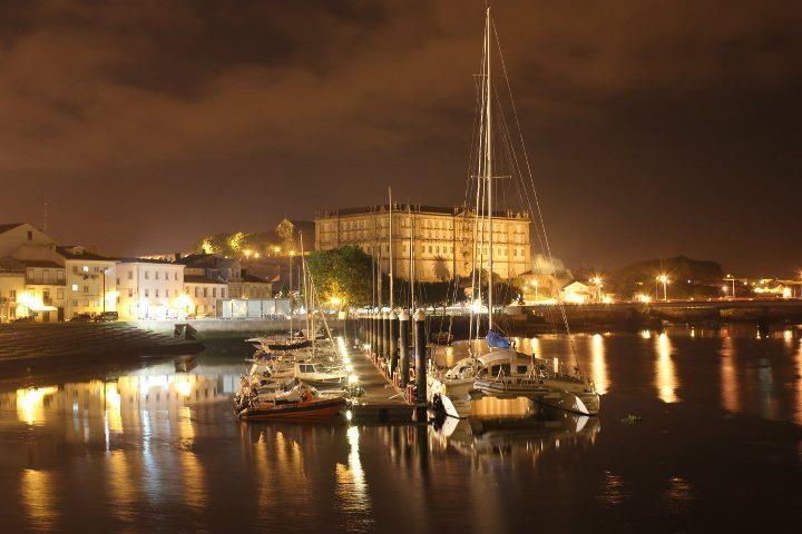 Vila do Conde at night - Portugal