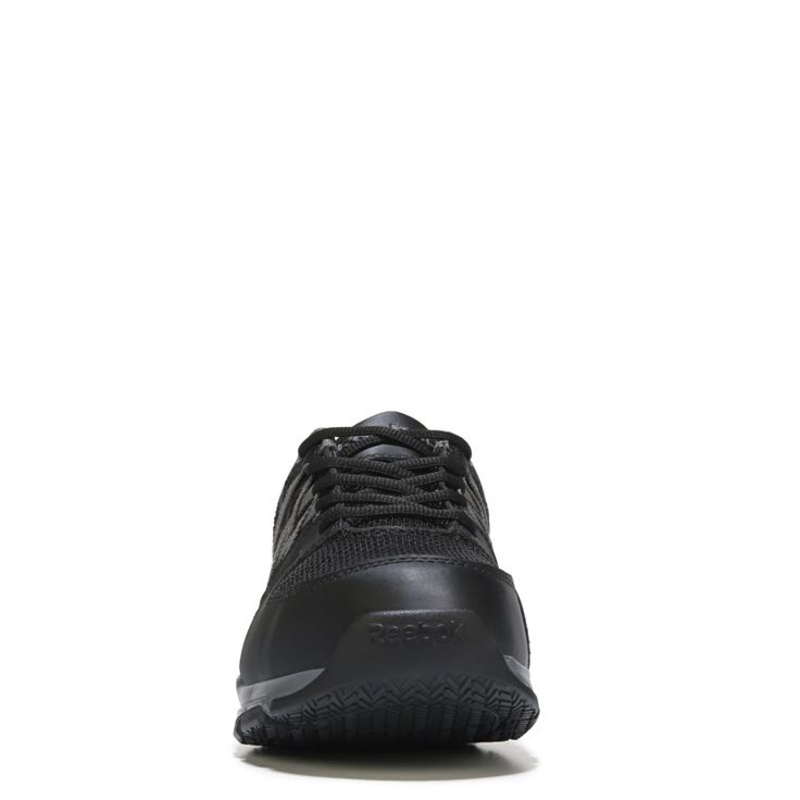 Reebok Work Men's Sublite Work Medium/Wide Steel Toe Work Shoes (Black) - 12.0 M