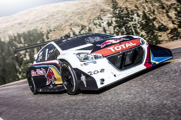 """Sébastien Loeb is """"King of the Peak"""""""