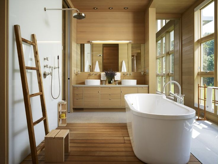 inspiring bathroom renovations and designs architectural digest note floor wood can be used as shower
