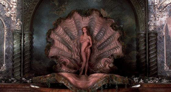 Uma Thurman in The Adventure's of Baron Munchausen (1988) dir. Terry Gilliam.