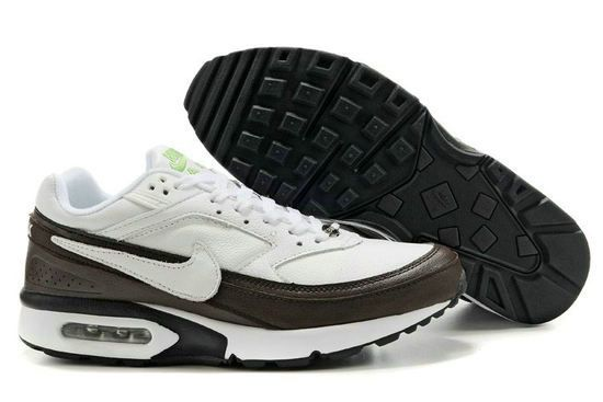 Danmark Billige Nike Air Max Classic BW Trainers Mænd - White/Dark Brown, www.cheapshoeshub#com nike free 5.0 mens, air max 90, nike air, nike free shoes sale,