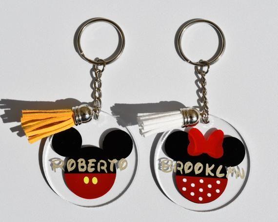 Mickey Themed Keychains
