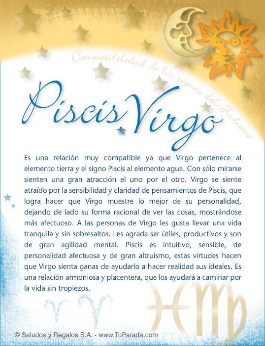 Piscis con Virgo, Compatibilidad de Piscis, tarjetas, postales gratis, feliz día, nombres, fotos, imágenes, felices fiestas.
