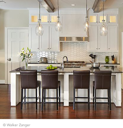 walker zanger kitchen backsplash i like the lights shape the island cocoon mosaic in 6929