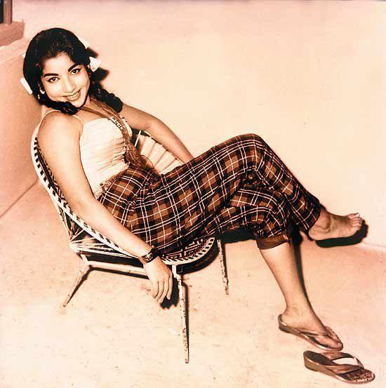 Jayalalithaa Jayaram. The 'iron lady' of Tamil Nadu (70s)