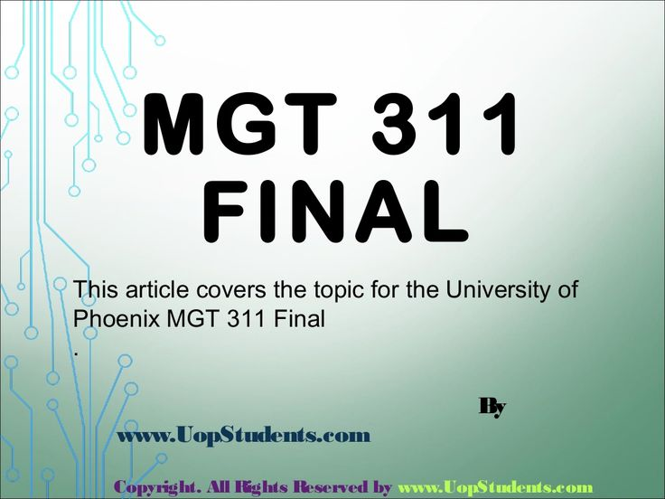 First week of MGT 311 will involve the general business environment and basic things, but in the subsequent weeks, there will be the detailed information about the course. The students will also be provided some simulation practices in which the artificial situation will be provided, and these will be asked to enact according to the situation considering ethics in mind. There will be the MGT 311 final exam after the course to check the understanding level.