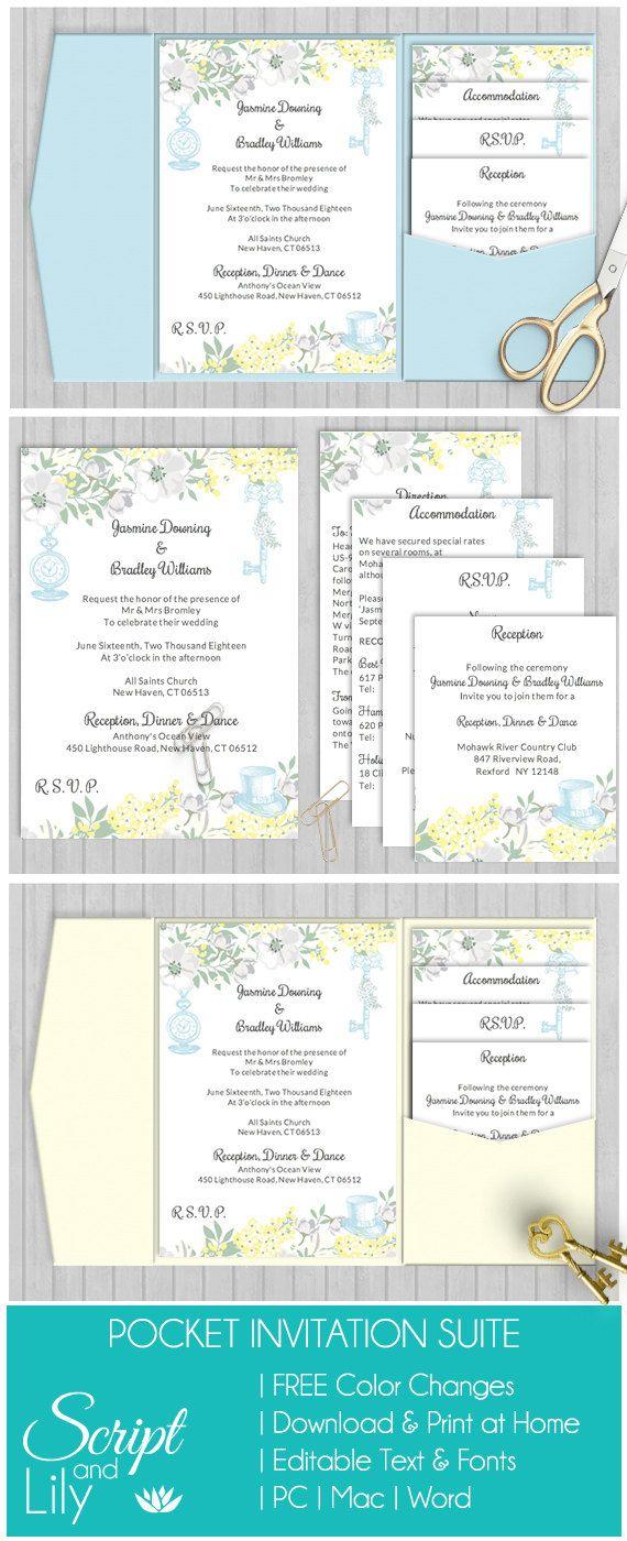 372 best Instant Downloadable | Edit and Print | Digital Wedding ...