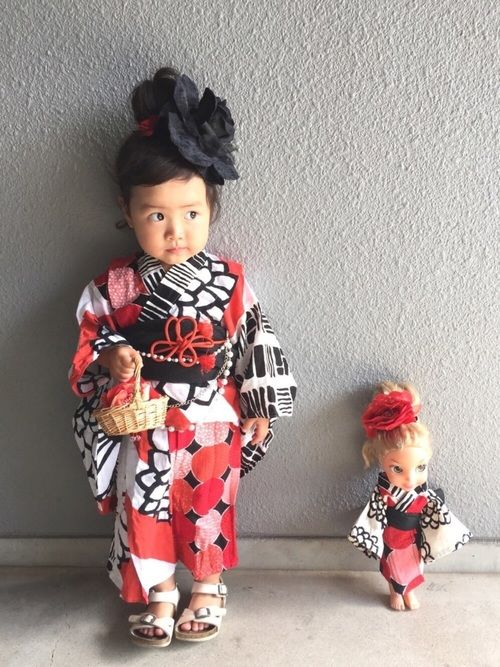 yukata:80cm 去年一目惚れして、オーダーメイドで作っていただいた浴衣❤️ 作家さんに、うり