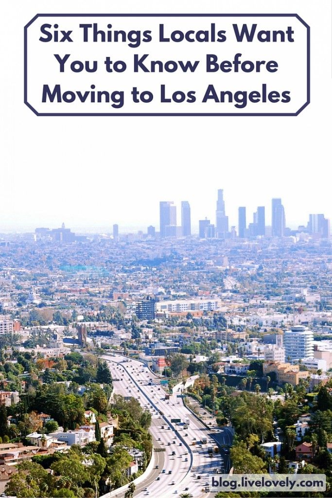 Whether you're moving to Los Angeles from across the country or from somewhere nearby, there are a few things to know before you arrive. Aside from the 364½ days of sunshine, plethora of beaches, excellent food (did you sign the lease yet?) there are some misconceptions about what it's like to actually live in the City of Angels. Here are Six Things Locals Want You to Know Before Moving to Los Angeles, CA.