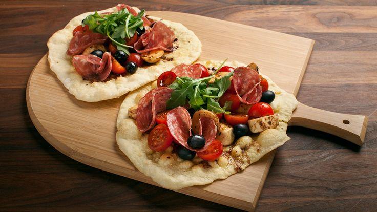 Pizza fresca au salami