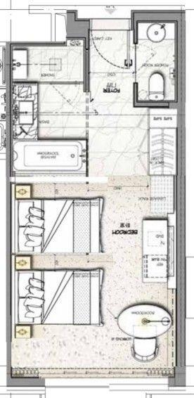 Hotel Room Plan: 296 Best Hotel Floor Plan Images On Pinterest