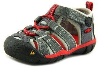 Keen Seacamp Ii Cnx Infant Round Toe Canvas Gray Sport Sandal.