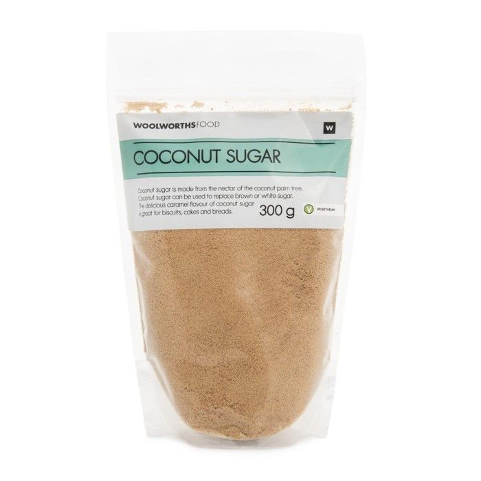 Coconut Sugar 300g                                Available at Woolworth's stores / online in South Africa