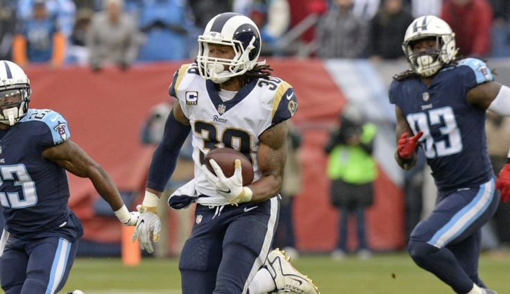 Rams clinch NFC West as Todd Gurley has 276 yards from scrimmage