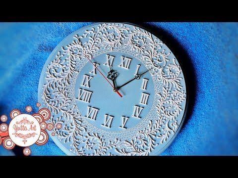 Yutta Art   Часы настенные оригинальные для гостинной.