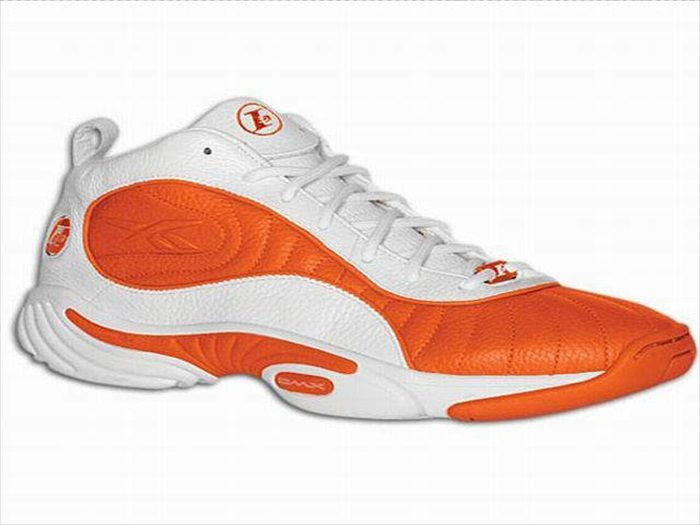 2b229df600a457 ... Size 12 Allen Iverson Shoes Allen Iverson Reebok Answer 3 White Orange  shoes reebok iverson ...