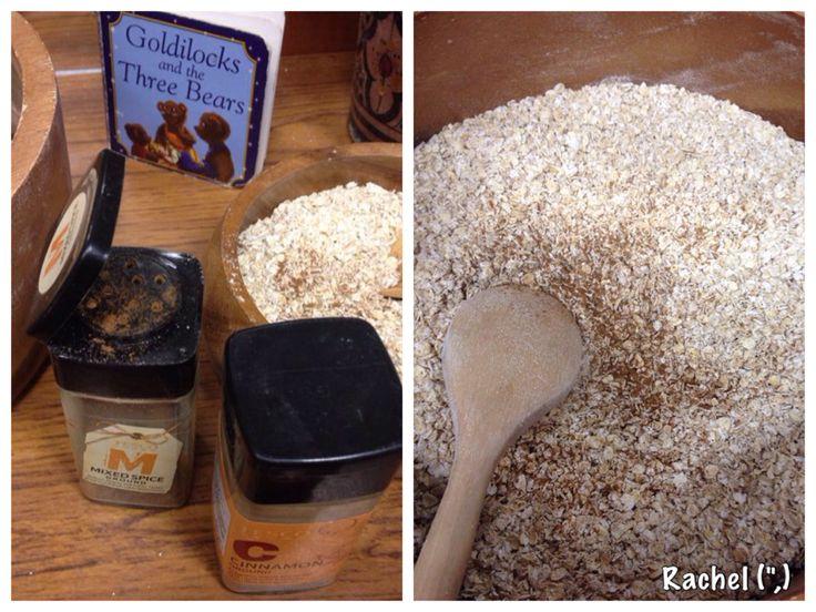 """Porridge on the Finger Gym - from Rachel ("""",)"""