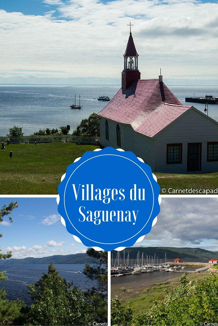Visite de la région du Saguenay - Découverte des villages de Tadoussac, L'Anse Saint-Jean et sainte-Rose du Nord