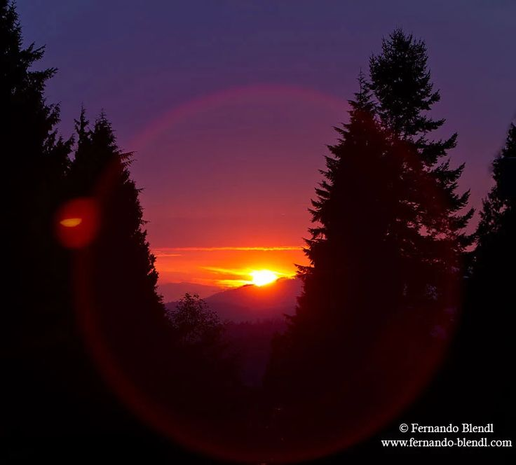 Photo: Another beautiful sunset in Vancouver Island, BC, Canada
