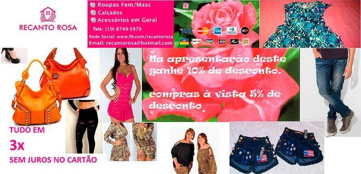 Façam uma visita e adquira descontos de 10% na compra de qualquer item. (19) 3226-0116 R APIABA, 450 - Pq. Universitário