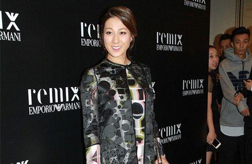 Linda Chung Makes Day Trip to Hong Kong