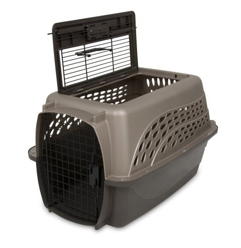 Petmate Two Door Top Load 24-Inch Pet Kennel  Metallic Pearl Tan and Coffee Ground Bottom: http://www.amazon.com/Petmate-24-Inch-Kennel-Metallic-Coffee/dp/B0062JFGFC/?tag=httpbetteraff-20: Dogs Beds, Tops Loaded, Ground Memorial, Doors Tops, Pet Kennels, Pearls Tans, Ground Bottoms, 24 Inch Pet, Metals Pearls