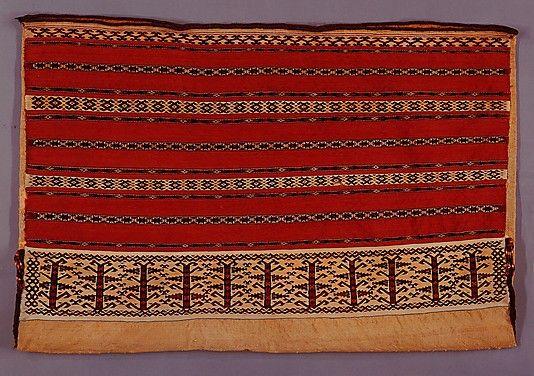 Turkmen banded chuval