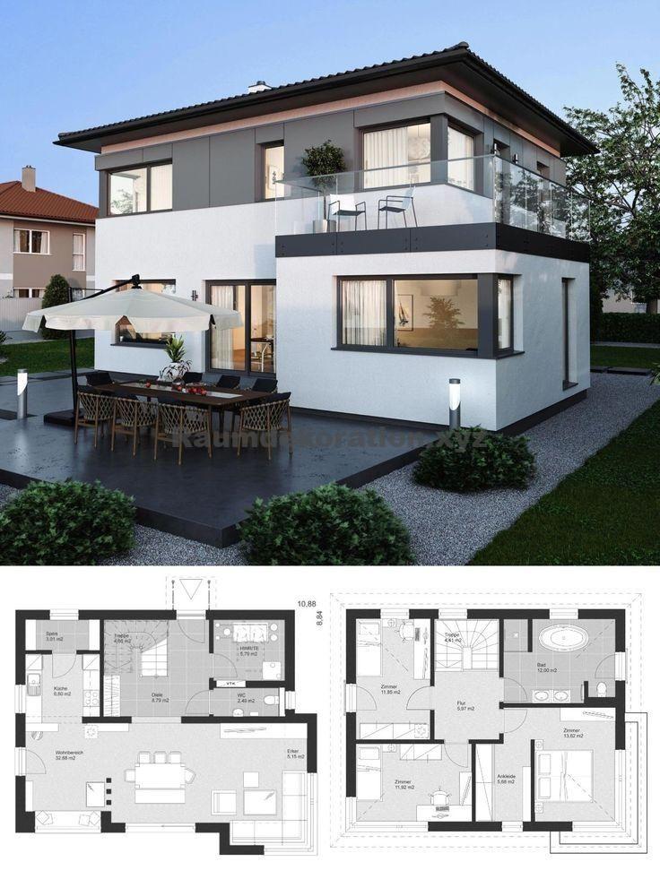 Architektur Ideen Stadtvilla Modern Im Landhaus Design Mit